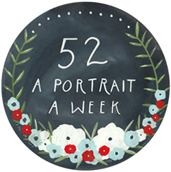 a portrait a week