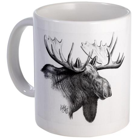 mug moose classic
