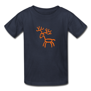 tshirt cartoon moose