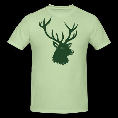 tshirt green elk