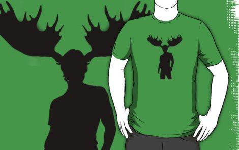 tshirt i am moose
