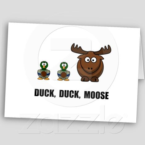 card duck