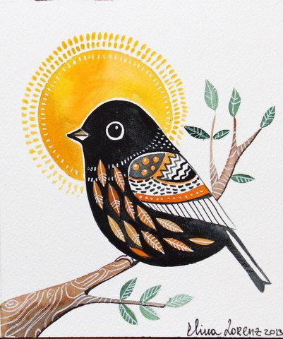 blackbird wall art